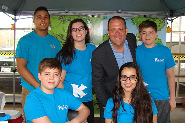 Earth Day 2016 Our Crew with Walter Sendzik, our Mayor